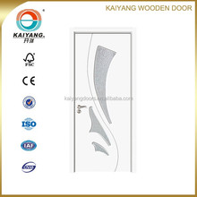 Turkey/Romania/Bulgaria/Georgia interior pvc mdf glass wooden door design