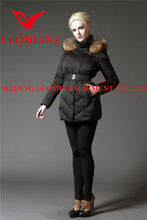 High Quality Real Fox Fur Women Down Down Jacket For The Winter Women Apparel