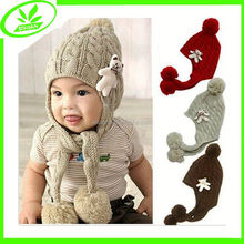 Cheap crochet popular children animal hats