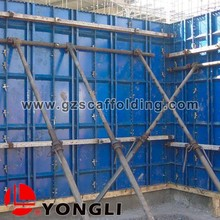 Steel Flat Concrete Shear Wall Formwork for Construction