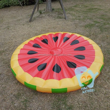 62 inch Summer Water Sports Inflatable Watermelon Slice Large Inflatable Water Pool Toys