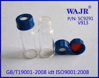 2ml wide opening short screw-thread clear vial hplc instrument vial