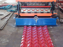 Hardware Telescopic Channel Steel Glazed Tile Rolling Forming Machine