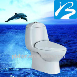 Ceramic Siphonic WC Toilet Sanitary Trap