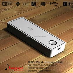 Wholesale cheap wireless 8GB- 256GB U Disk Wi-Fi 512gb usb stick cheap