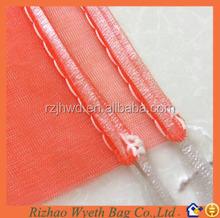 cheap packaging mesh drawstring bags