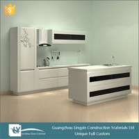 2015 disassemble modular kitchen cabinets color combinations made in china