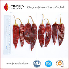 Natural air dried dry American red hot chili