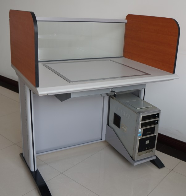 screen Computer table | computer desk with partition, View computer