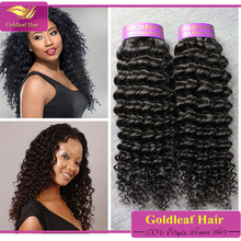 Best quality Natural Real virgin remy hair10A brazilian virgin hair deep wave