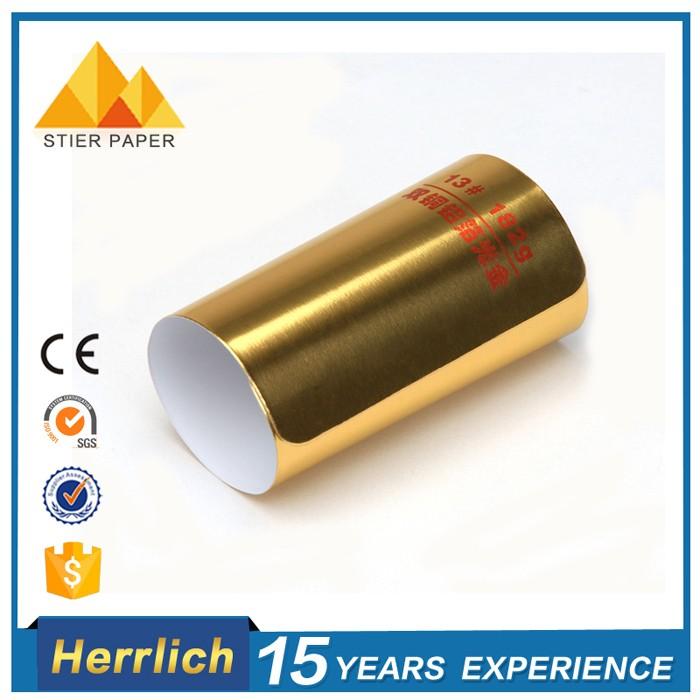 metallized film laminated paper