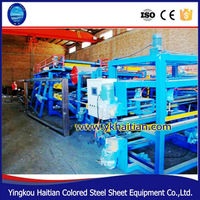 EPS Building Roof And Wall Panel Making Sandwich Machinery