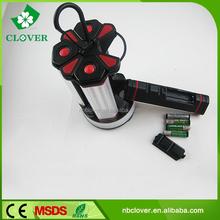 16*AAA battery for all 80 LED + 4 0.5W LED mini camping led flashlight