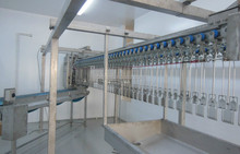 poultry slaughter equipment/chicken meat processing machinery /chicken meat cutting machine