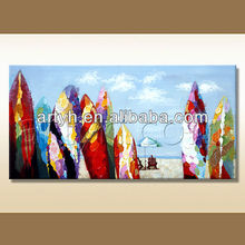 Handmade Beach Beautiful Of Landscape On Canvas