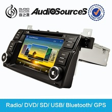 car dvd player stand with DVD CD Mp3 VCD USB Canbus Gps Map