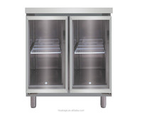 Automatic Defrost Commercial Refrigerator for Kitchen Equipment