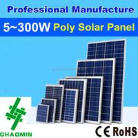 solar panel polycrystalline price 5w~300w
