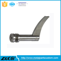 Stainless steel used wrought iron stair railing parts
