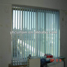 Decorative electric vertical blind 90mm width slats