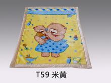 raschel children blanket 100% polyester embossed baby blankets warm wool blanket