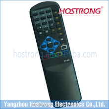 Remote control tv with rubber buttons for Russia market RUBIN RC-500 TXT