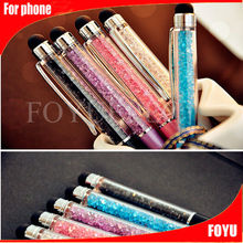 stylus pen/stylus touch pen crystal/crystal bling stylus pen Luxurious stylus crystal touch pen