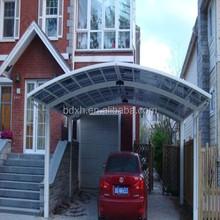 aluminum outdoor car shelters / gazebo/garage awning aluminum carports