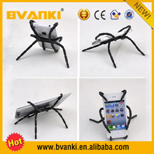 Silicone Spider Phone Holder,Interesting Flexible Spider Style Phone Holder For Car Stent Support Cell Phone,Smart Phone Holder