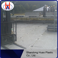 uhmwpe ground protection system mats/hdpe access lawn temporary road/crane outrigger mat