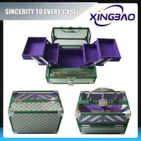 Cheap exquisite cosmetic case non woven fabric,popular vanity cosmetic case,aluminum cosmetic case