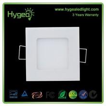 from factory led panel light! smd2835 4w,6w,9w,12w,15w,18w,24w led light panel, round & square led panel lighting