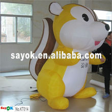 2015 Customized inflatable squirrel inflatable cartoon