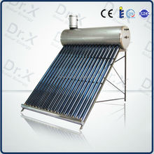 Direct Manufacturer portable Compact unpressurized solar water heater(sunstar style)