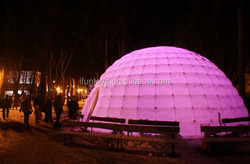 inflatable lighting dome / inflatable led dome tent /camping led dome