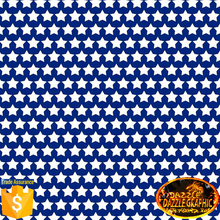 Unmatched Quality Dazzle Graphic NO.DGDAS388 Water transfer printing film patterns Blue with White star hydrographic patterns