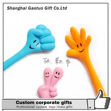 Design Promotion Finger Plastic Ball Pen