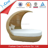 Asian style outdoor furniture bali outdoor beach bed, day bed