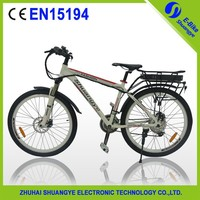 Hot sale pedal assist mountain electric bicycle made in china