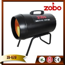 20KW 220V Industry black air heater for outdoor