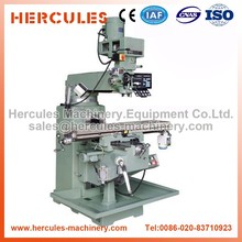 Knee type ,3 axis , automatic feed dro cnc turret milling machine M3 -S