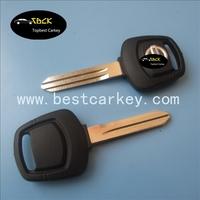 High quality car key for Nissan Sentra transponder key nissan key blank with silver logo 4D60 chip