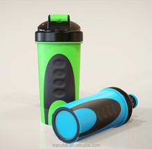 Fabricante vibración agitador joyshaker mesa, 250 ml plástico joyshaker botella de la coctelera, beber joyshaker deporte botella