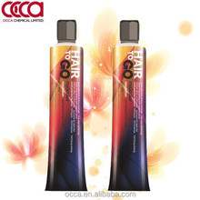 OCCA resolution permanent hair color