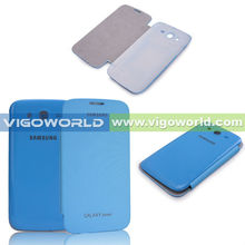 (Blue) Wallet Battery Back Cover Replacement Case for Samsung Galaxy S3 / SIII