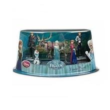 6pcs Set Frozen Movie Complete Story Playset Figure Toy Anna Elsa Hans Kristoff Sven Olaf Action Figure New in Box