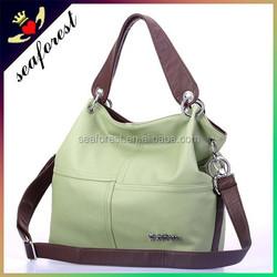 New cheap wholesale PU leather handbags for women,soft leather handbags