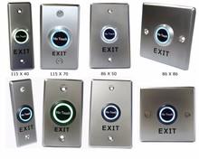 Mini Non-Touch Exit Push Button