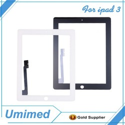 White for iPad 3rd 4 4th Gen Replacement Touch Screen Glass Digitizer Adhesive