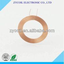 Copper air core coils apply in fm radio